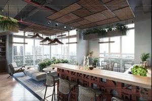 thiết kế nội thất văn phòng phong cách công nghiệp 19