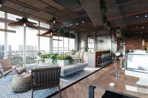 thiết kế nội thất văn phòng phong cách công nghiệp 20