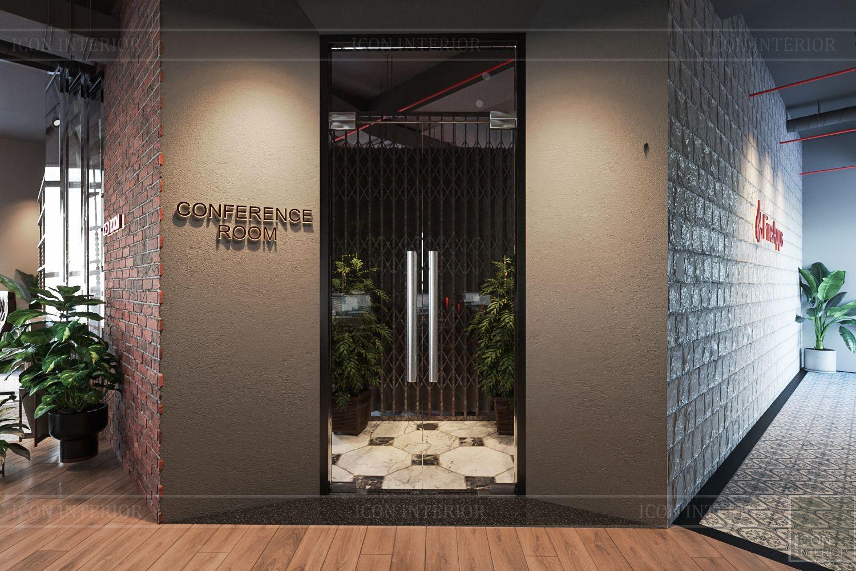 thiết kế nội thất văn phòng phong cách công nghiệp 8