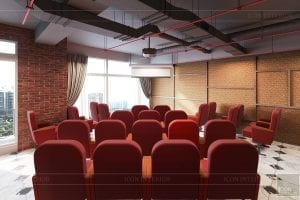 thiết kế nội thất văn phòng phong cách công nghiệp 9