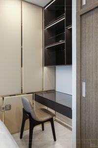 thi công căn hộ 1 phòng ngủ 50m2 - phòng ngủ 4