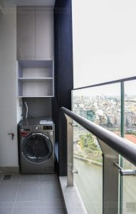 thi công căn hộ 1 phòng ngủ 50m2 - phòng khách bếp 10