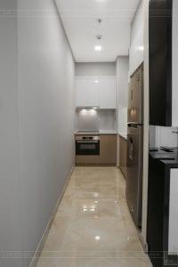 thi công căn hộ 1 phòng ngủ 50m2 - phòng khách bếp 9