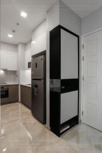 thi công căn hộ 1 phòng ngủ 50m2 - phòng khách bếp 1