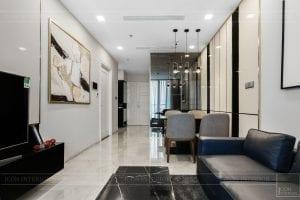 thi công căn hộ 1 phòng ngủ 50m2 - phòng khách bếp 8