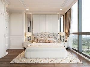 Thiết kế nội thất căn hộ cao cấp Landmark 81 - phòng ngủ nhỏ 6
