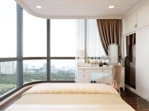 Thiết kế nội thất căn hộ cao cấp Landmark 81 - phòng ngủ nhỏ 8