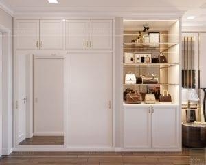 Thiết kế nội thất căn hộ cao cấp Landmark 81 - phòng ngủ master 1