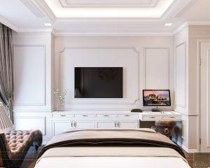 Thiết kế nội thất căn hộ cao cấp Landmark 81 - phòng ngủ master 4