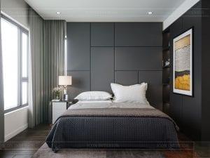 căn hộ estella heights 3 phòng ngủ - phòng ngủ master 1