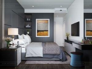 căn hộ estella heights 3 phòng ngủ - phòng ngủ master 2