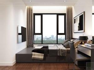căn hộ estella heights 3 phòng ngủ - phòng ngủ 1