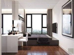 căn hộ estella heights 3 phòng ngủ - phòng ngủ nhỏ 2