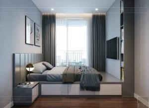 căn hộ richstar 3 phòng ngủ - phòng ngủ 3