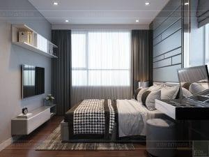 căn hộ richstar 3 phòng ngủ - phòng ngủ 1