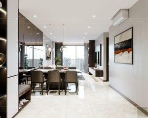 thiết kế nội thất căn hộhado centrosa 1