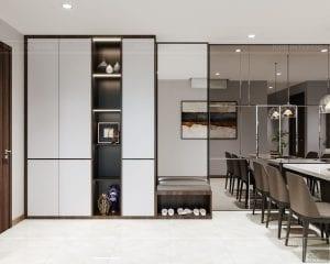 thiết kế nội thất căn hộhado centrosa 2