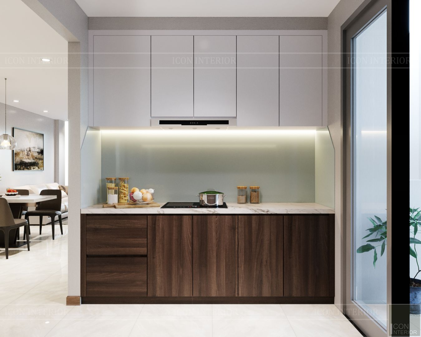 thiết kế nội thất căn hộhado centrosa 5