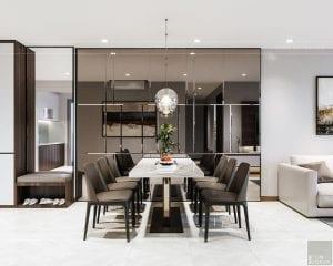 thiết kế nội thất căn hộhado centrosa 6