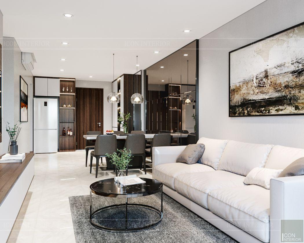 thiết kế nội thất căn hộhado centrosa 9