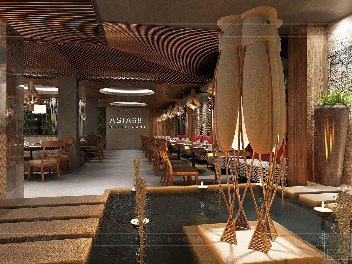 thiết kế nội thất nhà hàng đẹp 5