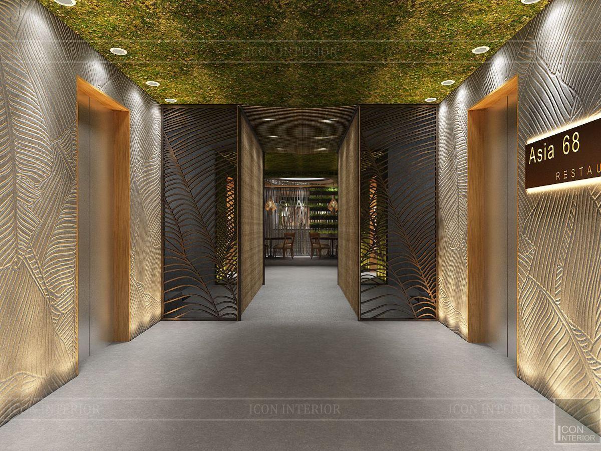 thiết kế nội thất nhà hàng đẹp 1