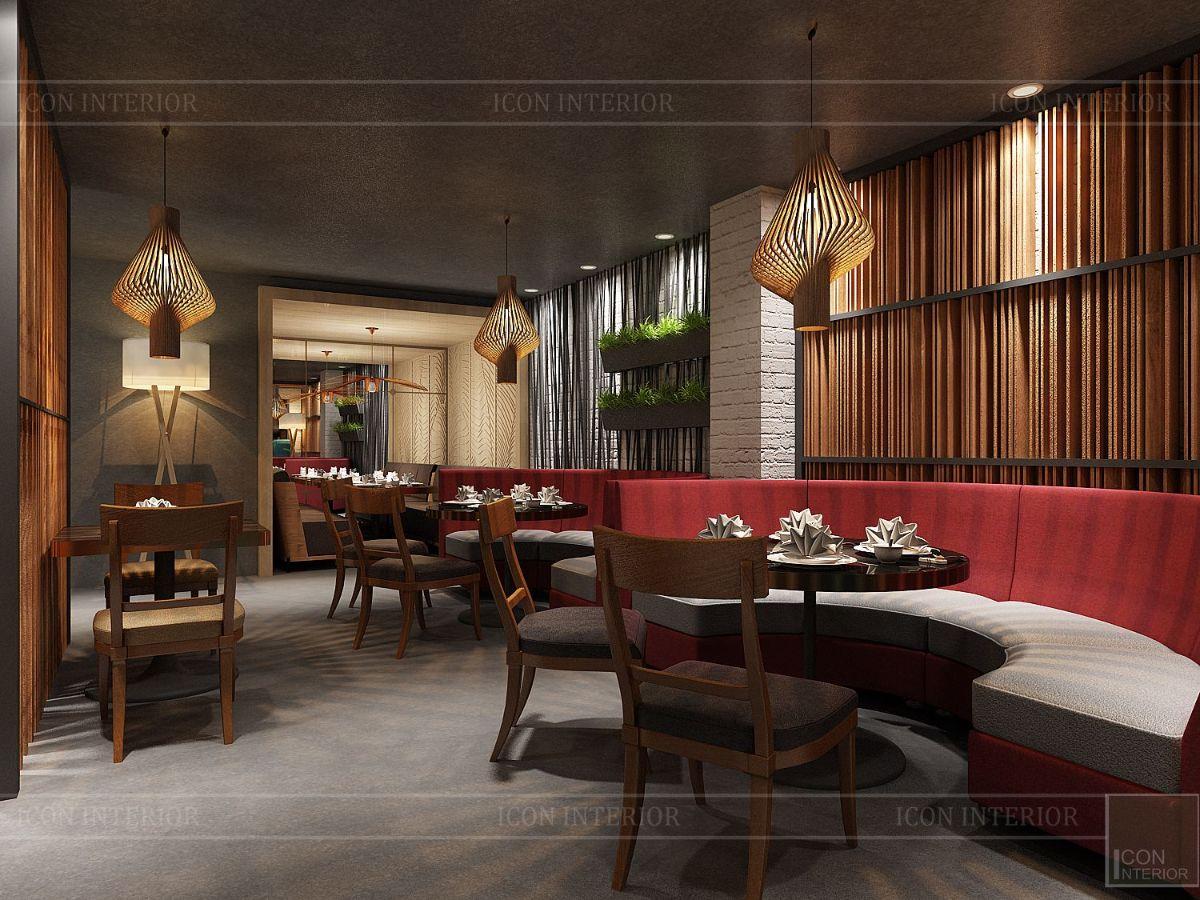 thiết kế nội thất nhà hàng đẹp 13