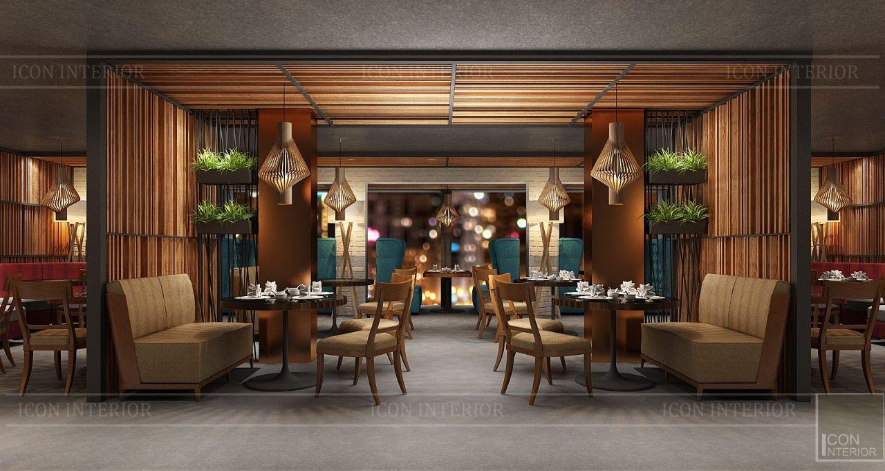 thiết kế nội thất nhà hàng đẹp 16