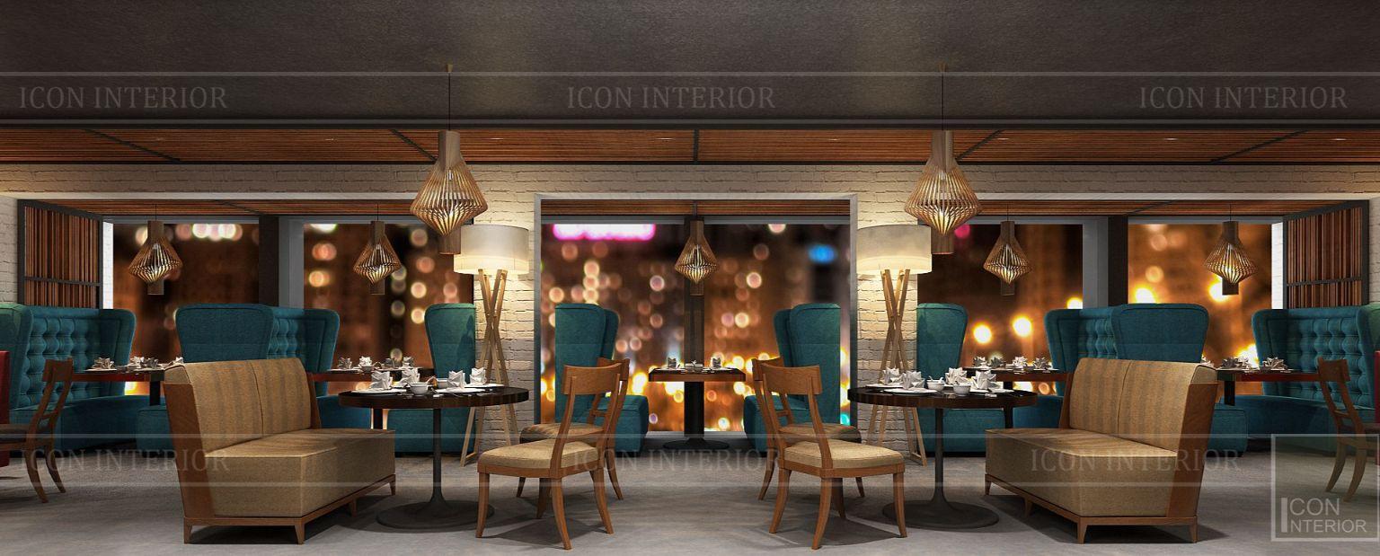 thiết kế nội thất nhà hàng đẹp 19