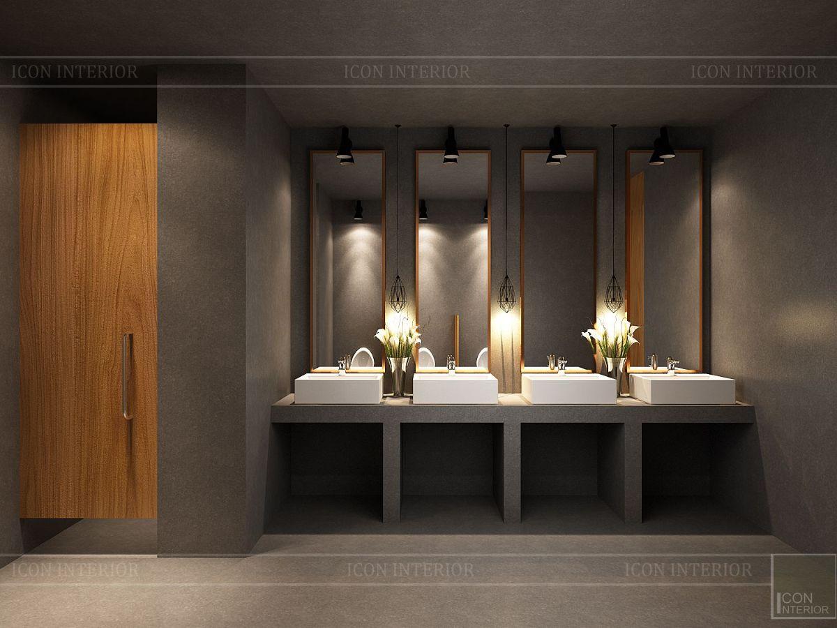 thiết kế nội thất nhà hàng đẹp 24