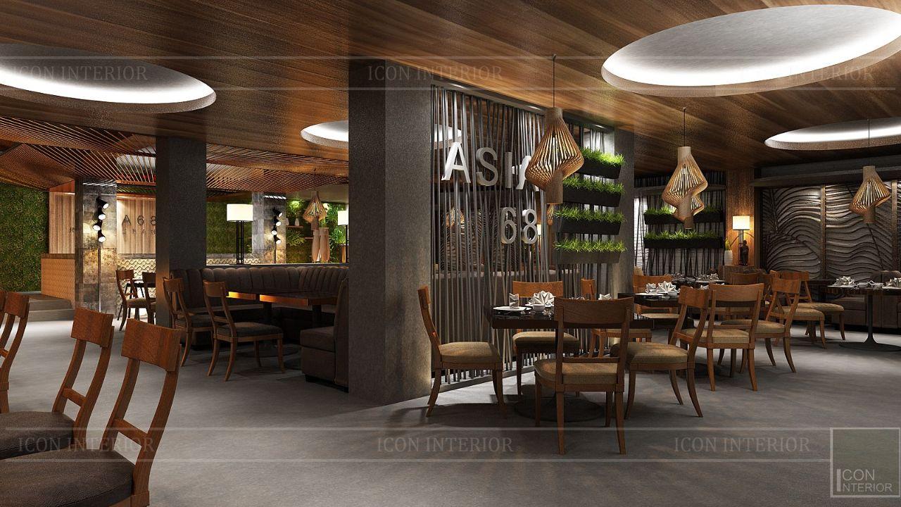 thiết kế nội thất nhà hàng đẹp 3