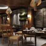 thiết kế nội thất nhà hàng đẹp 9