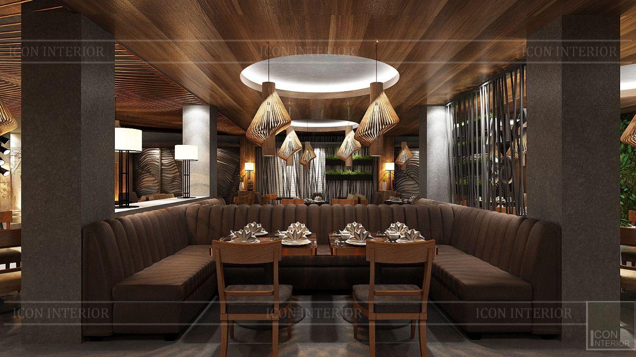 thiết kế nội thất nhà hàng đẹp 10