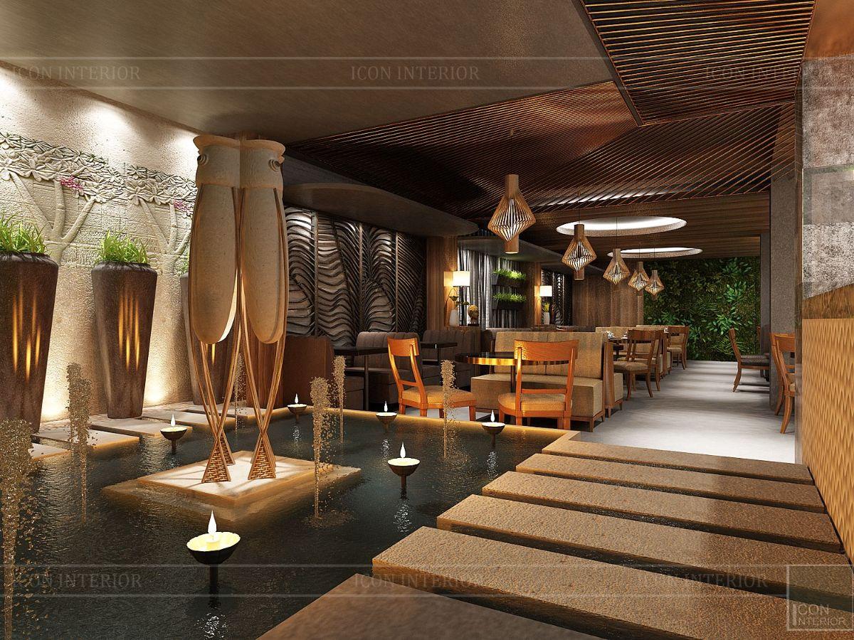 thiết kế nội thất nhà hàng đẹp 8