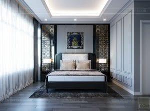thiết kế căn hộ saigon pearl - phòng ngủ master 1
