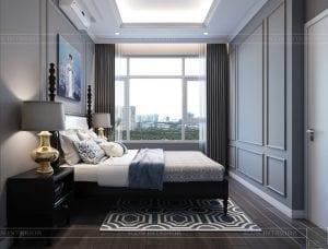 thiết kế căn hộ saigon pearl - phòng ngủ 2