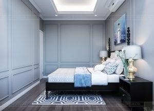 thiết kế căn hộ saigon pearl - phòng ngủ 3
