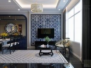 Thiết kế căn hộ phong cách Indochine