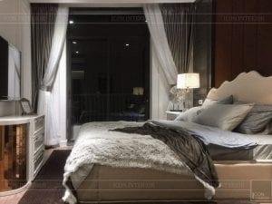 thi công nội thất tân cổ điển - phòng ngủ matser 1