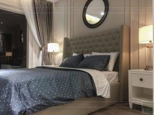 thi công nội thất tân cổ điển - phòng ngủ