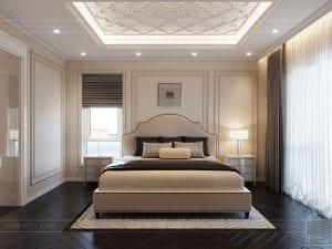 thiết kế biệt thự Park Riverside Premium - phòng ngủ master 5