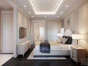 thiết kế biệt thự Park Riverside Premium - phòng ngủ master 6