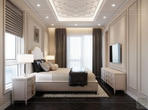 thiết kế biệt thự Park Riverside Premium - phòng ngủ master 4