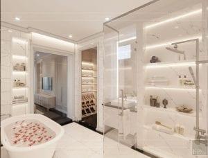 thiết kế biệt thự Park Riverside Premium - phòng ngủ master 9