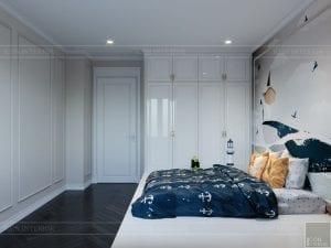 thiết kế biệt thự Park Riverside Premium - phòng ngủ bé 3