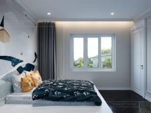 thiết kế biệt thự Park Riverside Premium - phòng ngủ bé 1
