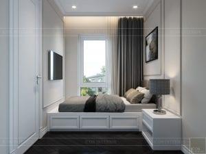 thiết kế biệt thự Park Riverside Premium - phòng ngủ nhỏ 1