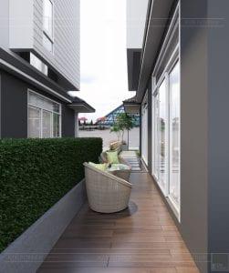 thiết kế biệt thự Park Riverside Premium - sân vườn 6
