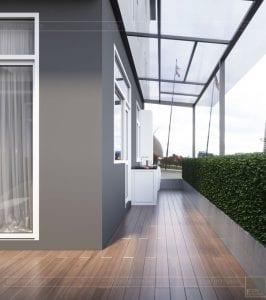 thiết kế biệt thự Park Riverside Premium - sân vườn 7