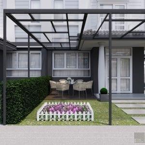 thiết kế biệt thự Park Riverside Premium - sân vườn 3